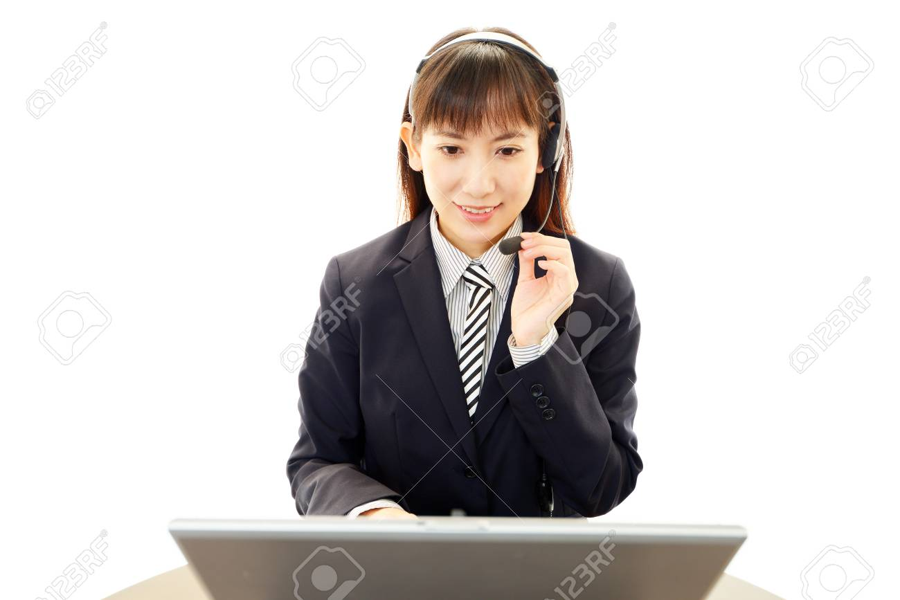 Smiling business woman Stock Photo - 19620406