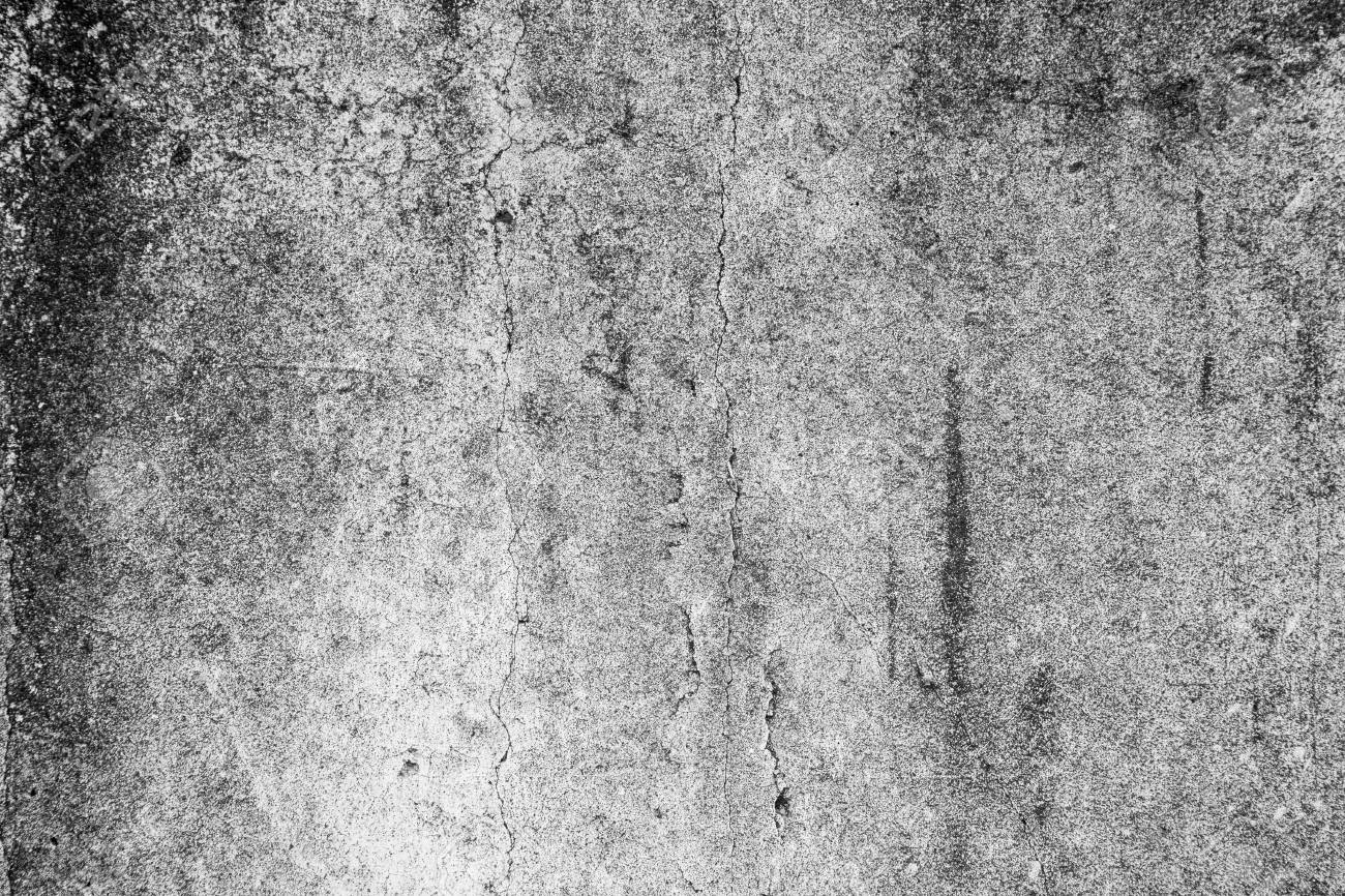 old grunge concrete cement wall, black and white abstract texture