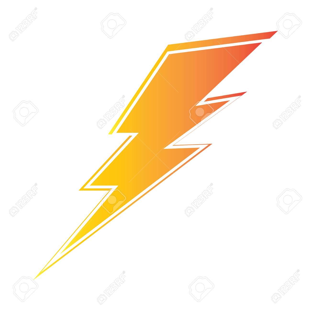lightning thunderbolt electricity design template - 146504001