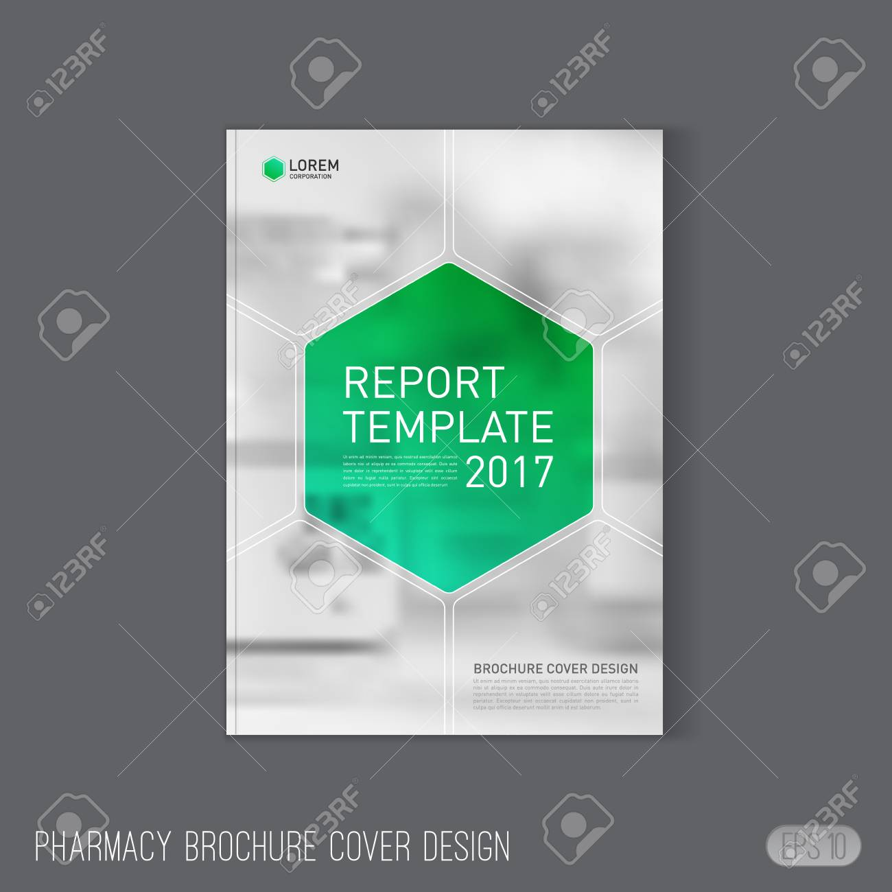 Pharmaceutical Brochure Cover Template Layout Medical Brochure - Free medical brochure templates
