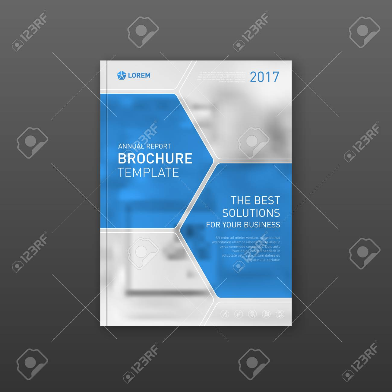 medical brochure cover template flyer design layout applicable