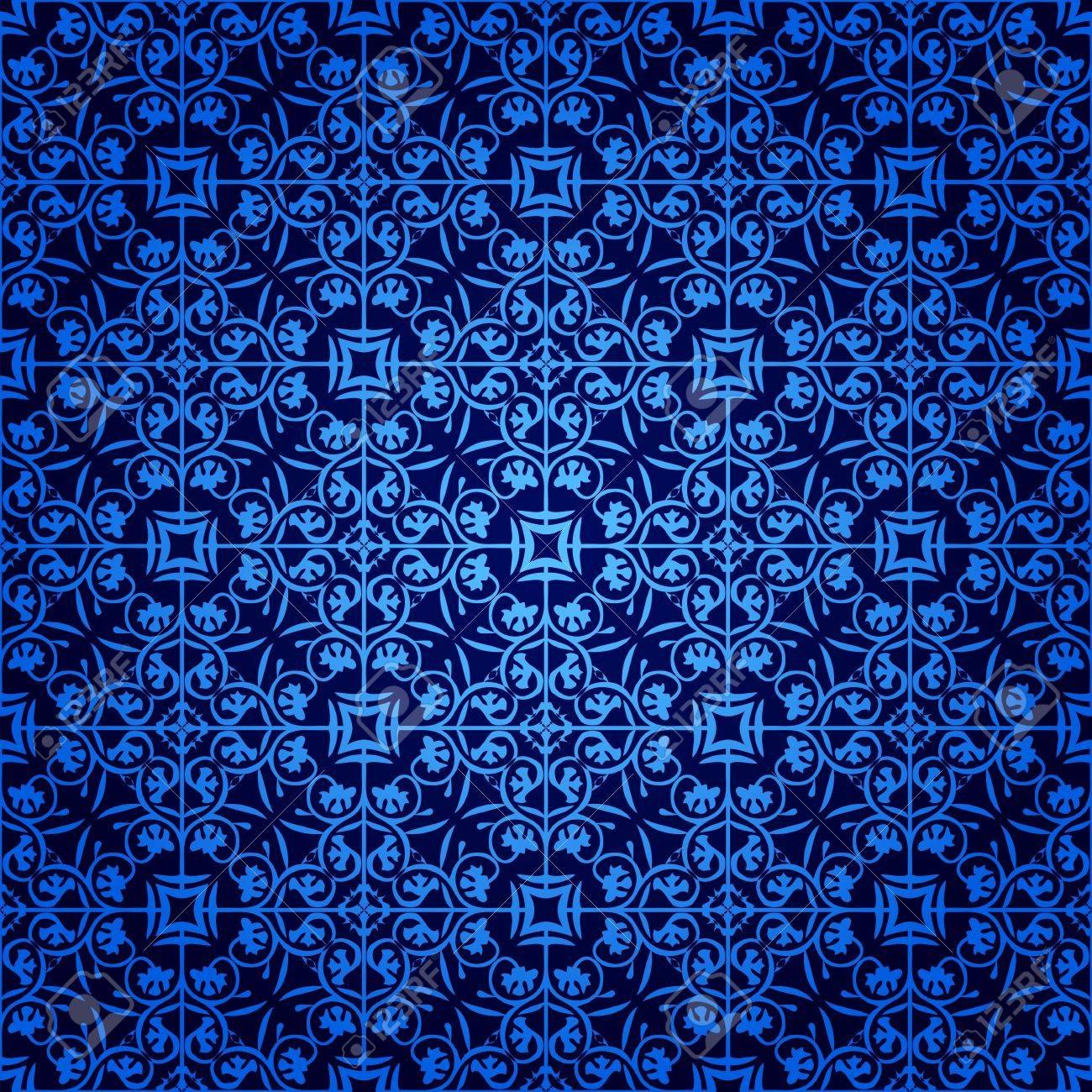 シームレスなゴシック様式の壁紙のイラスト素材 ベクタ Image 14970447