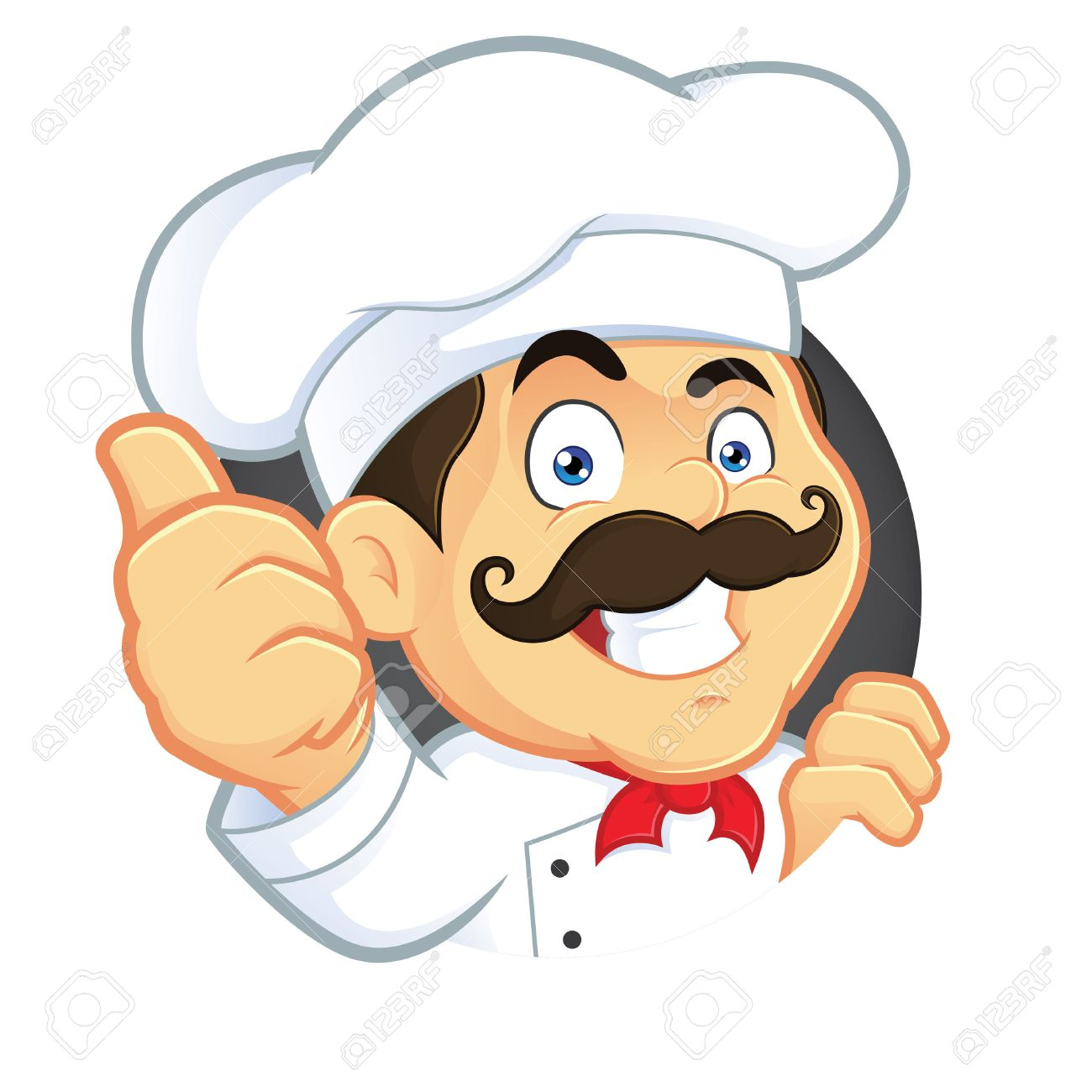 Chef Giving Thumbs Up - 26768416