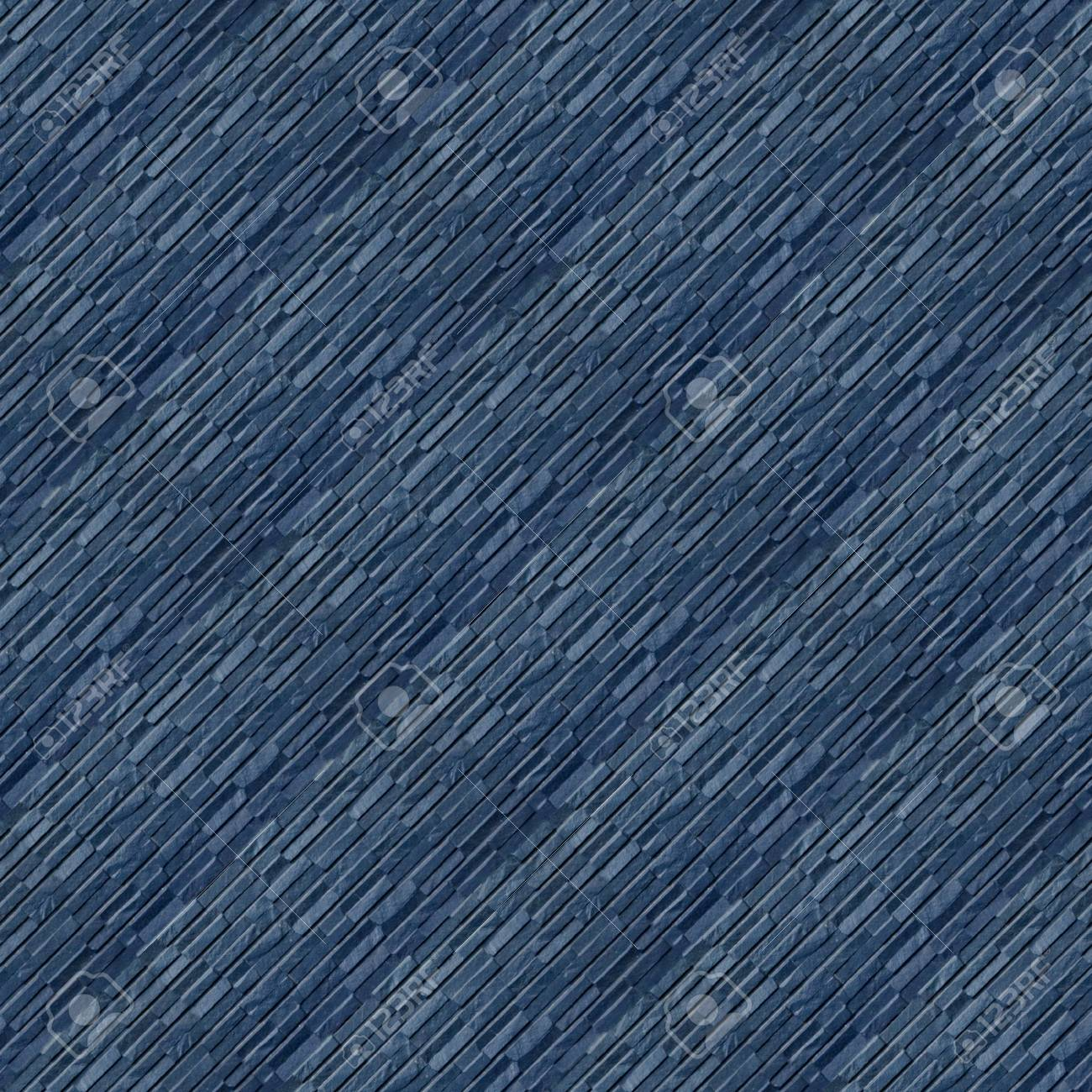 Seamless Pattern With Blue Plastic Wall Panels Of The Original ...