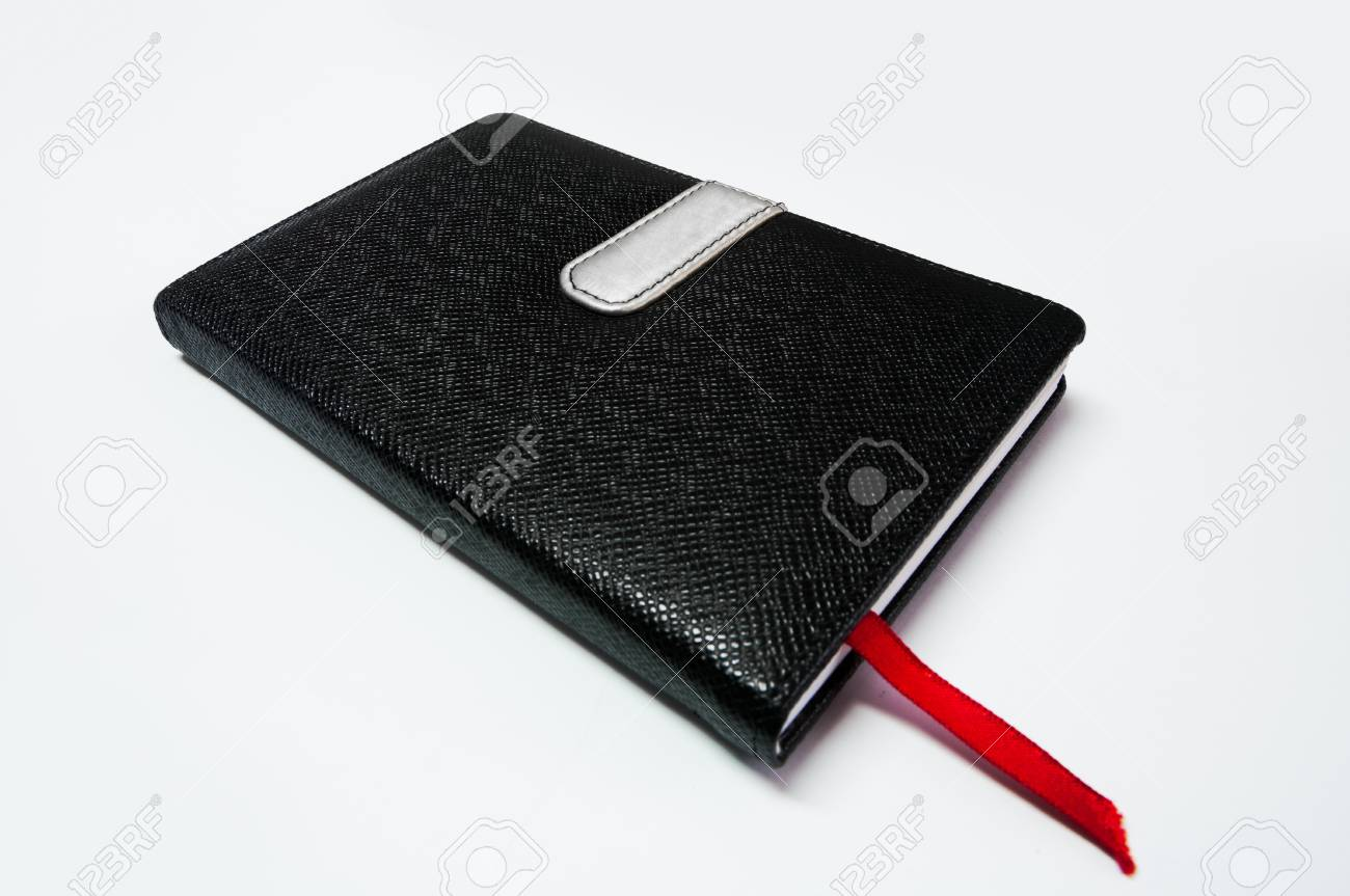 back notebook on white background Stock Photo - 9370086