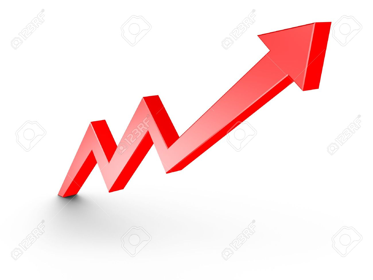 Red arrow growth chart isolated on white stock photo picture and red arrow growth chart isolated on white stock photo 8923729 nvjuhfo Gallery