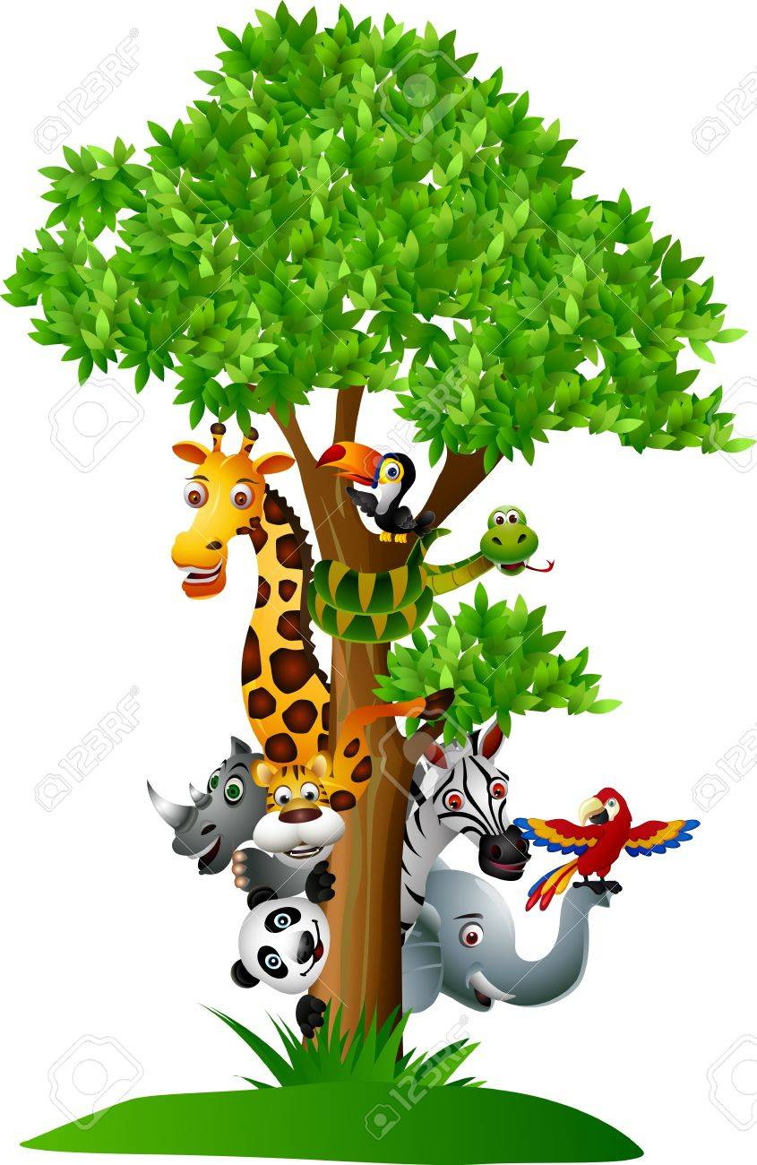 Funny Wild African Animal Cartoon Royalty Free Cliparts Vectors And Stock Illustration Image 14508817 Well you're in luck, because here they come. funny wild african animal cartoon