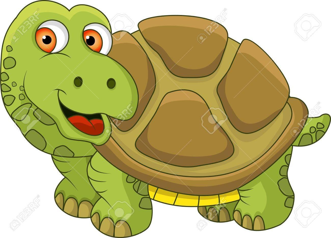 Turtle cartoon Stock Vector - 14607423