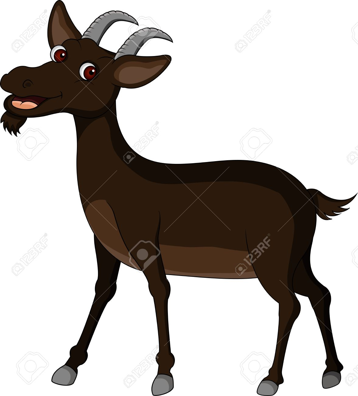 goat cartoon Stock Vector - 14629607