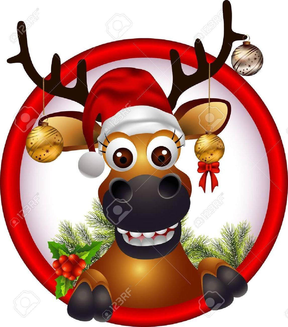 christmas deer Stock Vector - 16077021