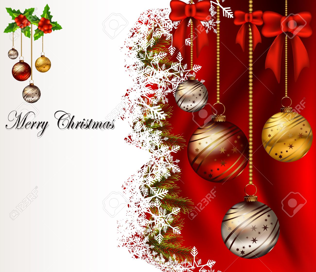 Christmas Greetings Background.Beauty Christmas Card Background
