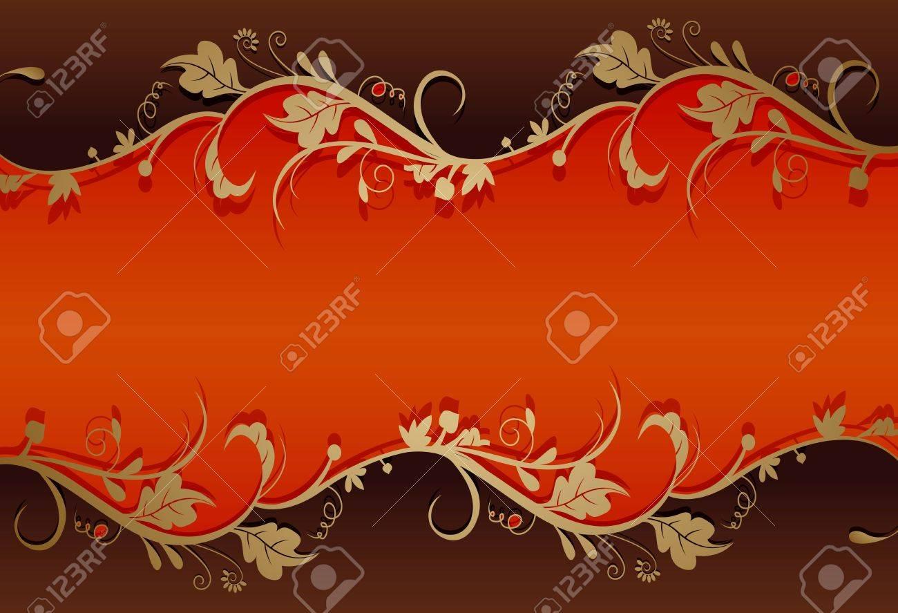 vintage retro floral background Stock Vector - 16460577