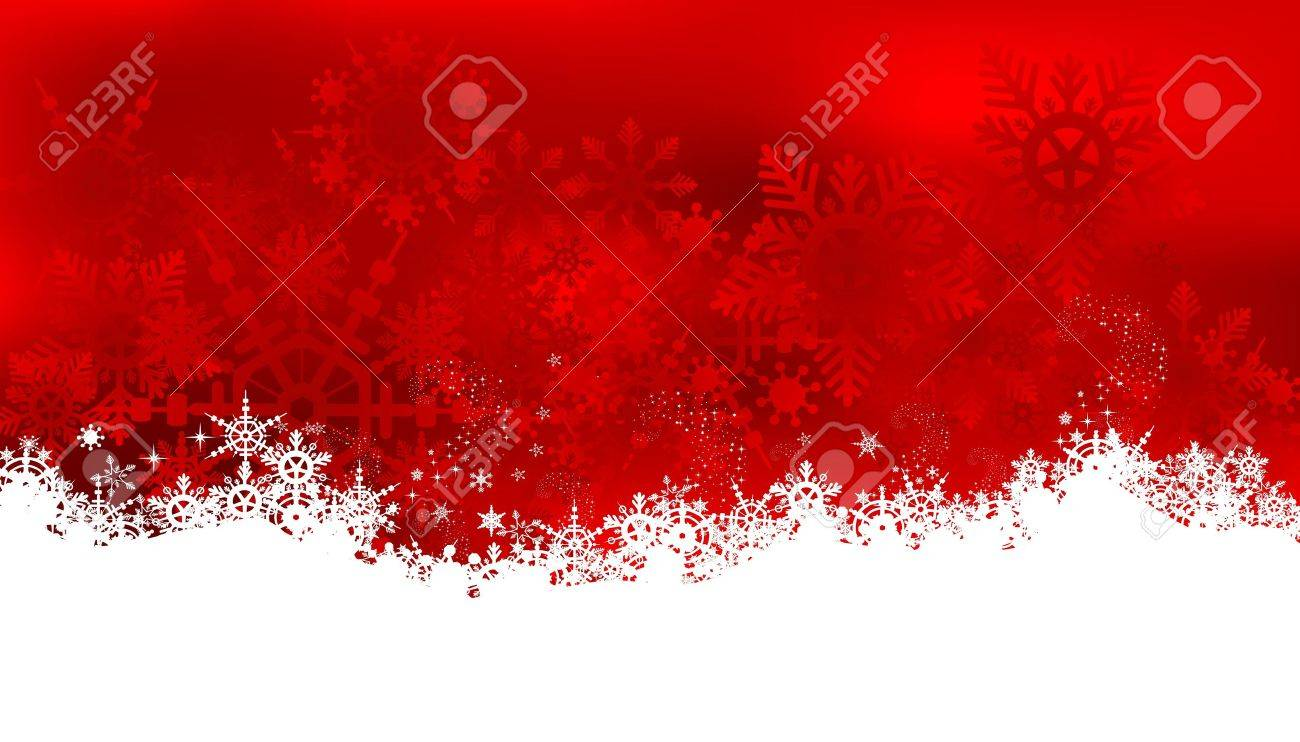 Abstract christmas background with snowflakes Stock Vector - 16460631