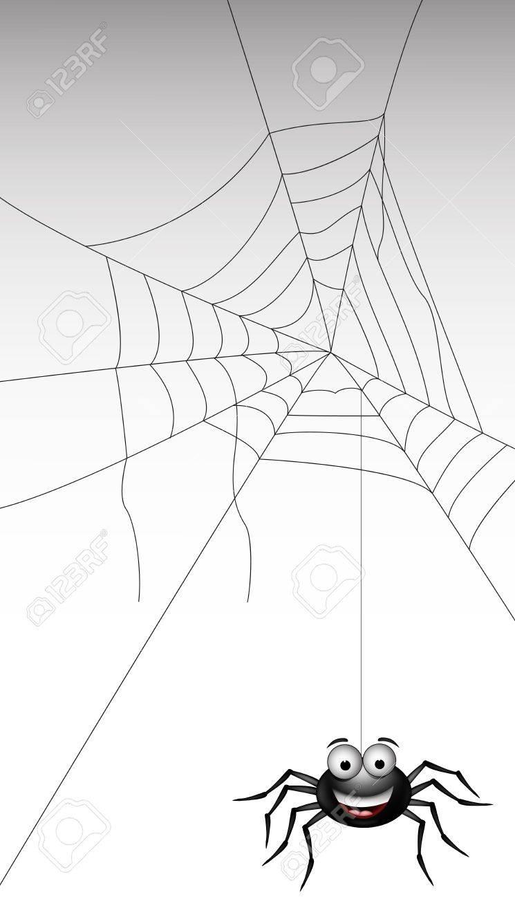 spider web illustration for you design Stock Vector - 16925674