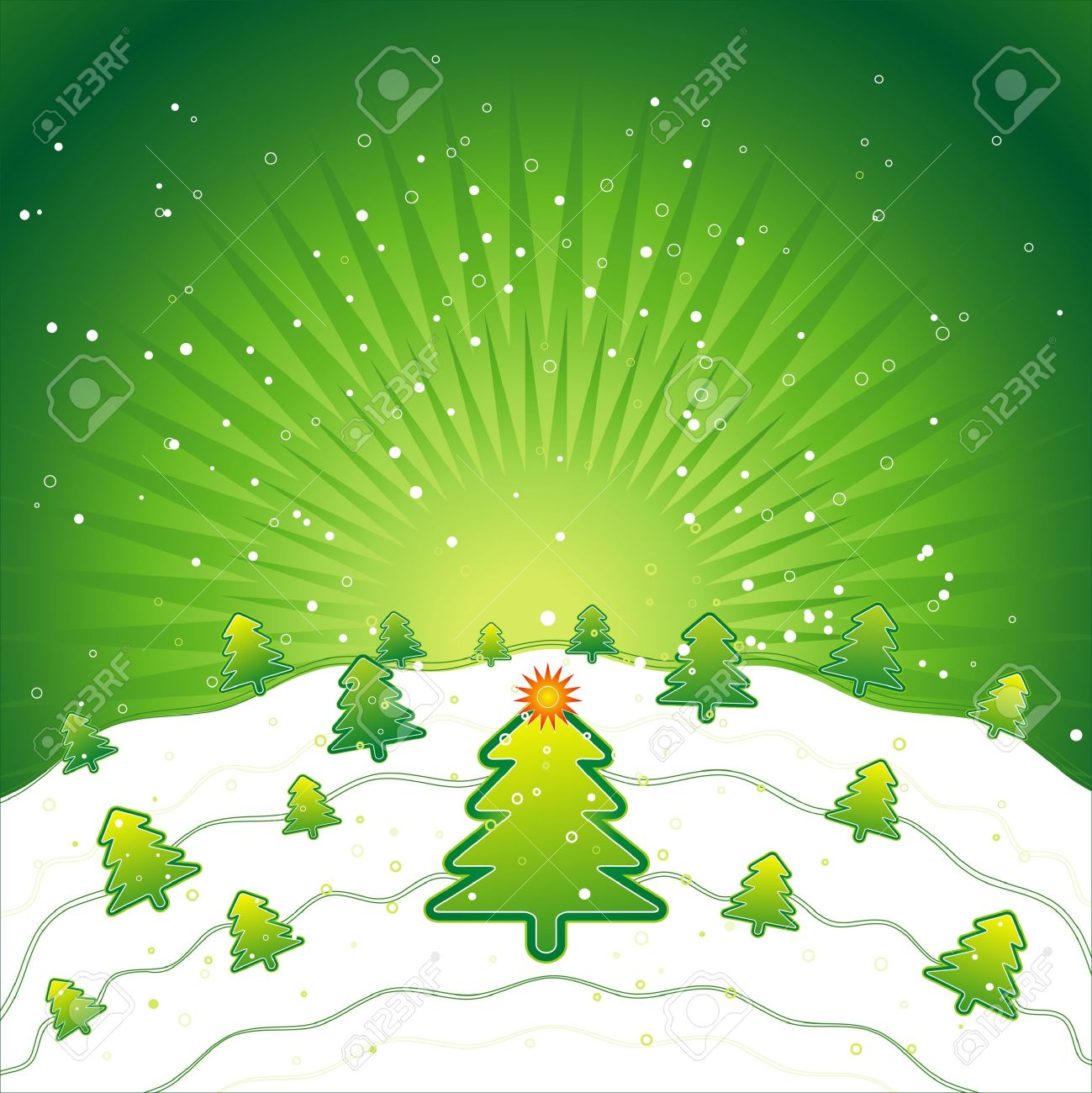 new, eve, tree, star, xmas, card, pine, snow, print, green, flake, field, curve, light, paint, shape, color, merry, alder, vector, forest, design, winter, nature, natural, holiday, graphic, drawing, clipart, colours, picture, cartoon, greeting, trimming, abstract, radiance, gradation, christmas, snowflake, beautiful, decoration, composition, stylization, illustration Stock Vector - 1390711