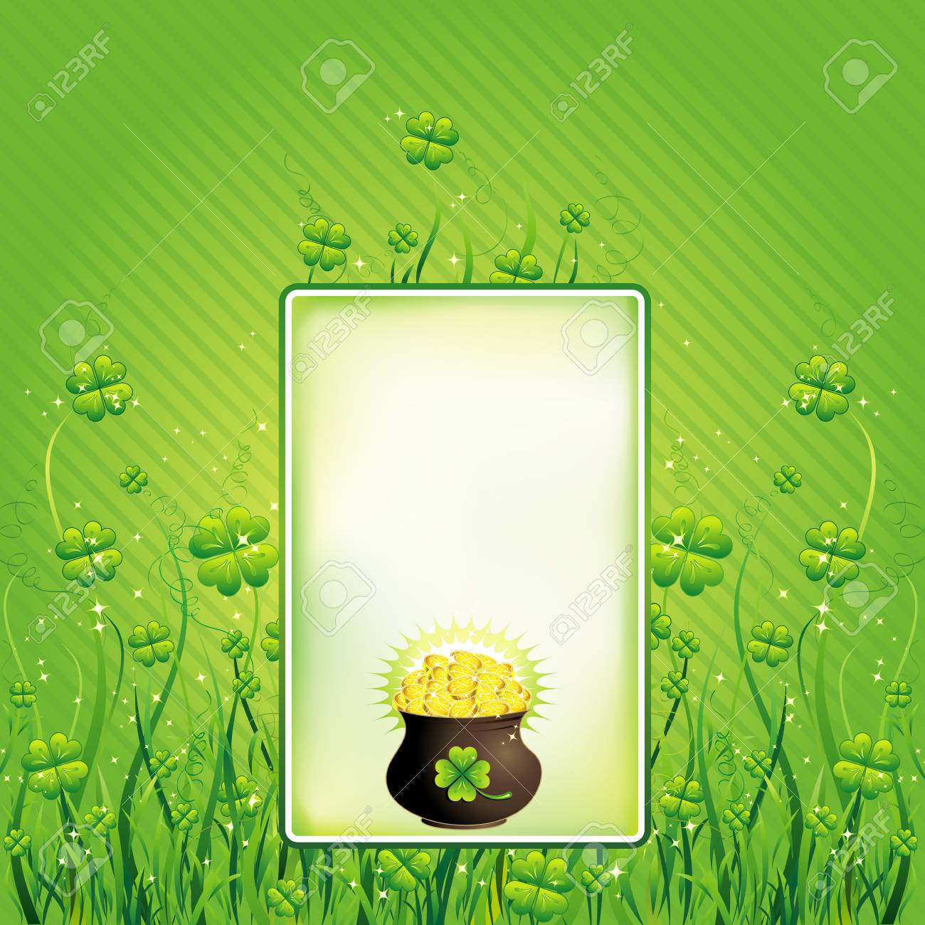 Card for St. Patrick's Day Stock Vector - 2466354