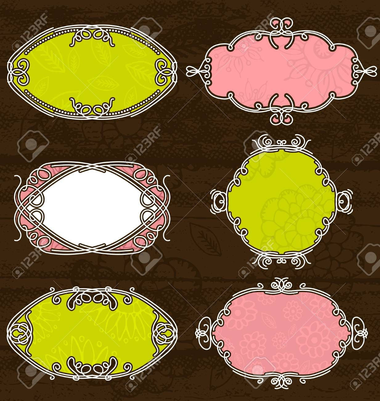 decorative  labels suitable for design, vector Stock Vector - 9429719