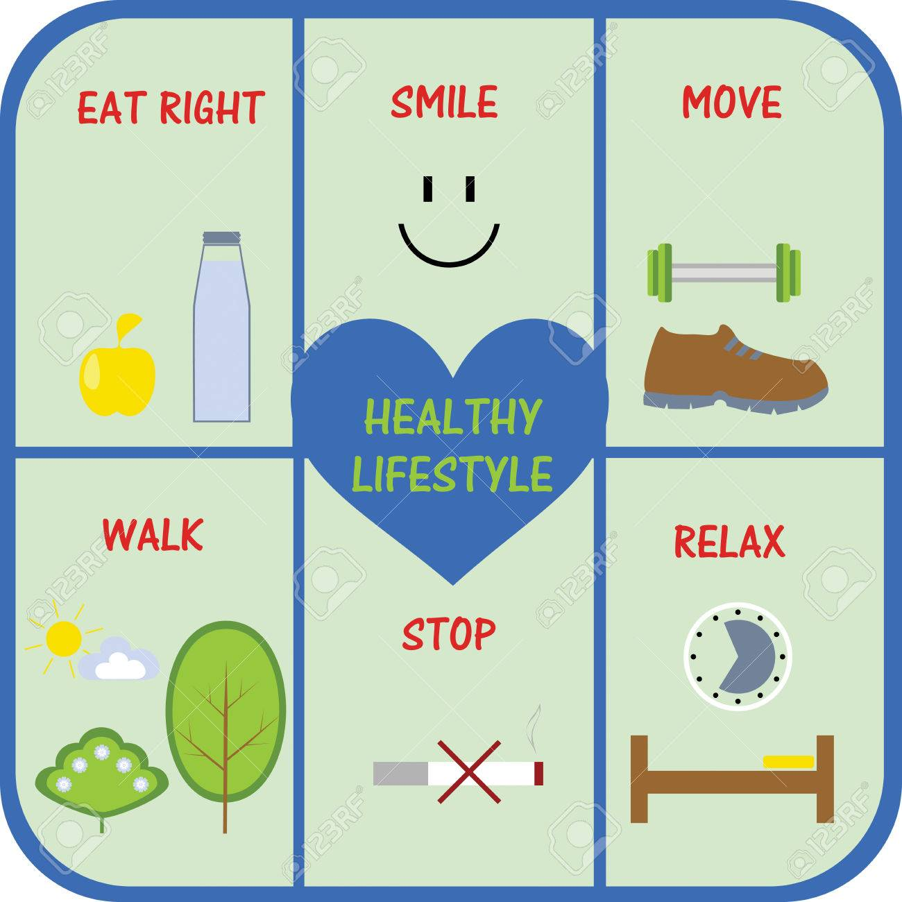 integral part of the concept of a healthy lifestyle - 47589855