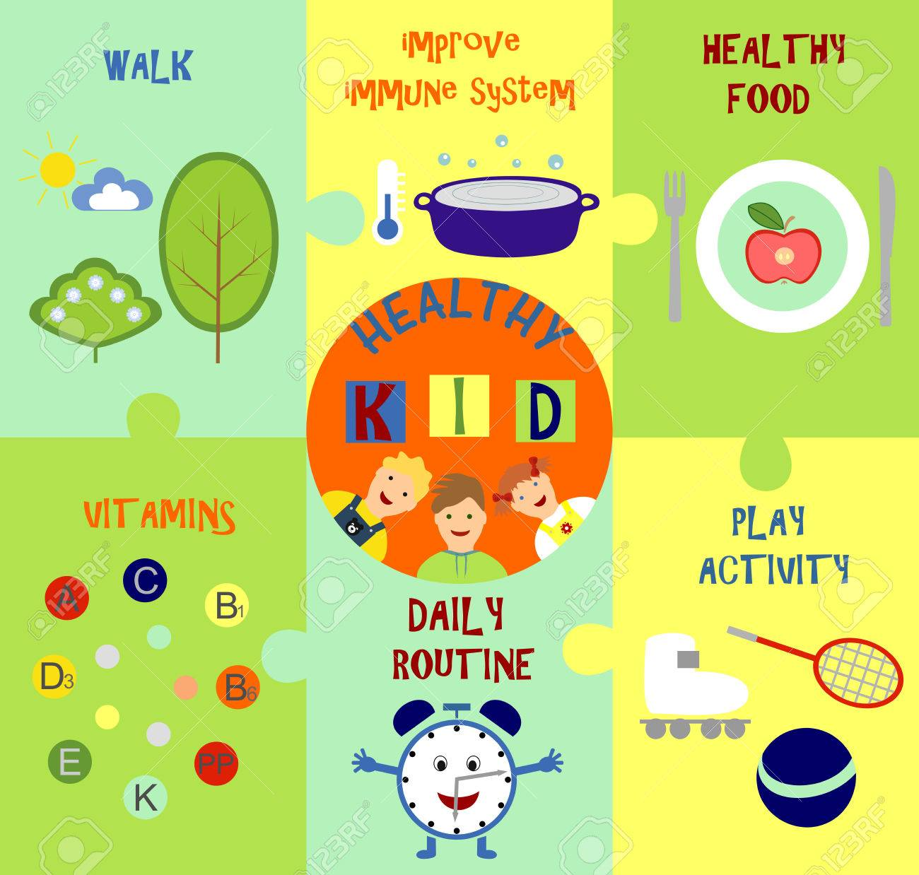 infographic on how to make a baby healthy - 49004649