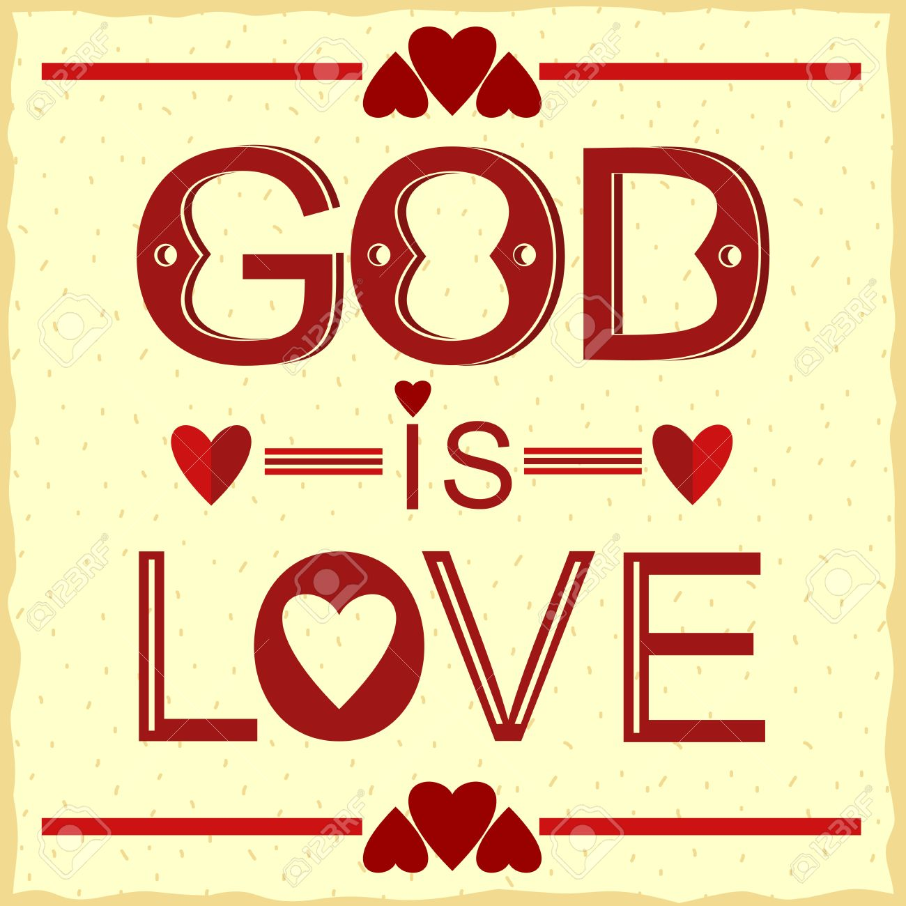 Bible verse god is love in red with hearts royalty free cliparts bible verse god is love in red with hearts stock vector 54968450 buycottarizona Image collections