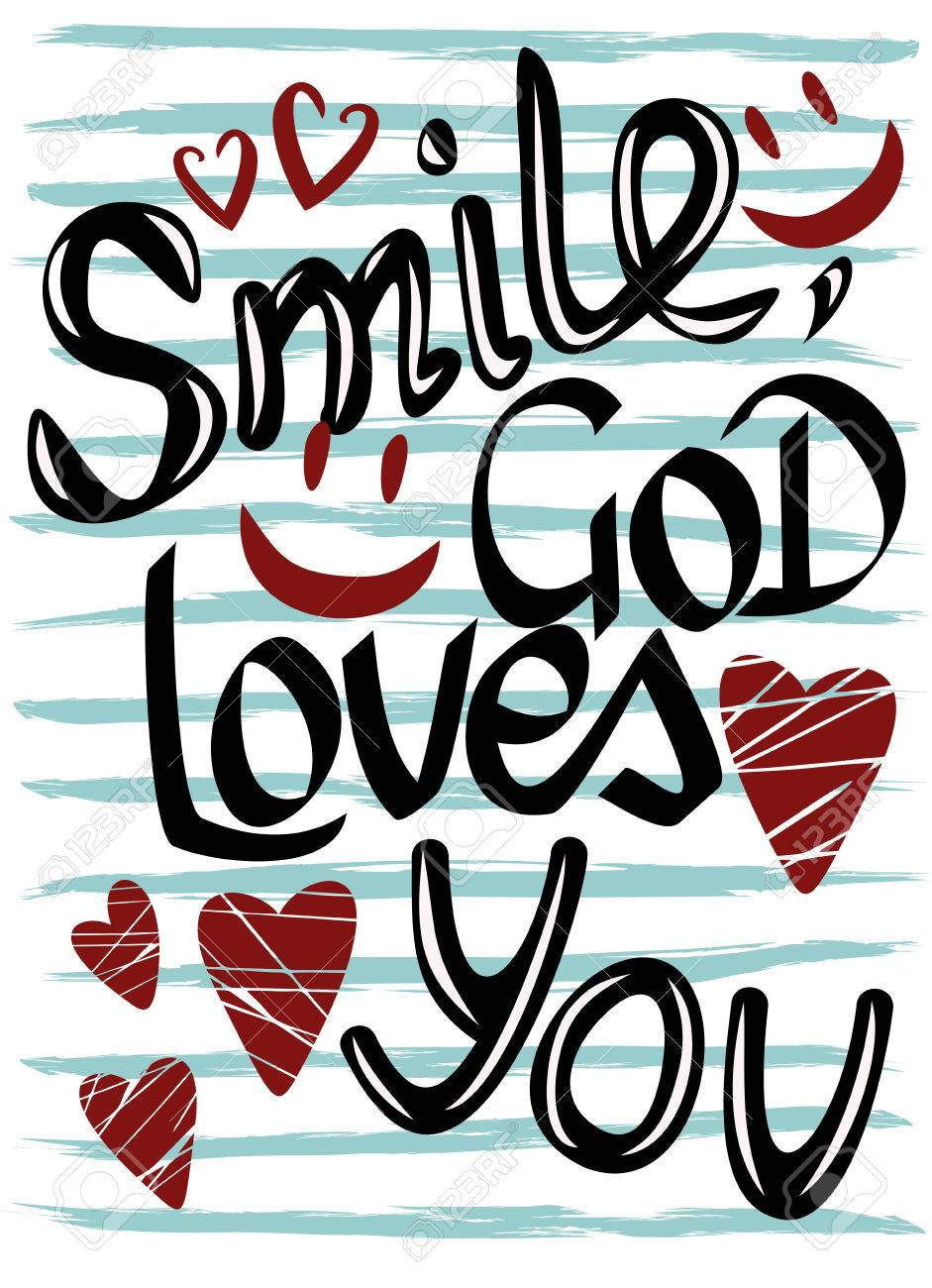 Smile of god