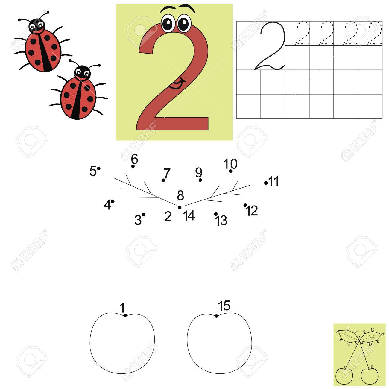 Increíble Hojas De Trabajo De Matemáticas Animales Molde - hojas de ...