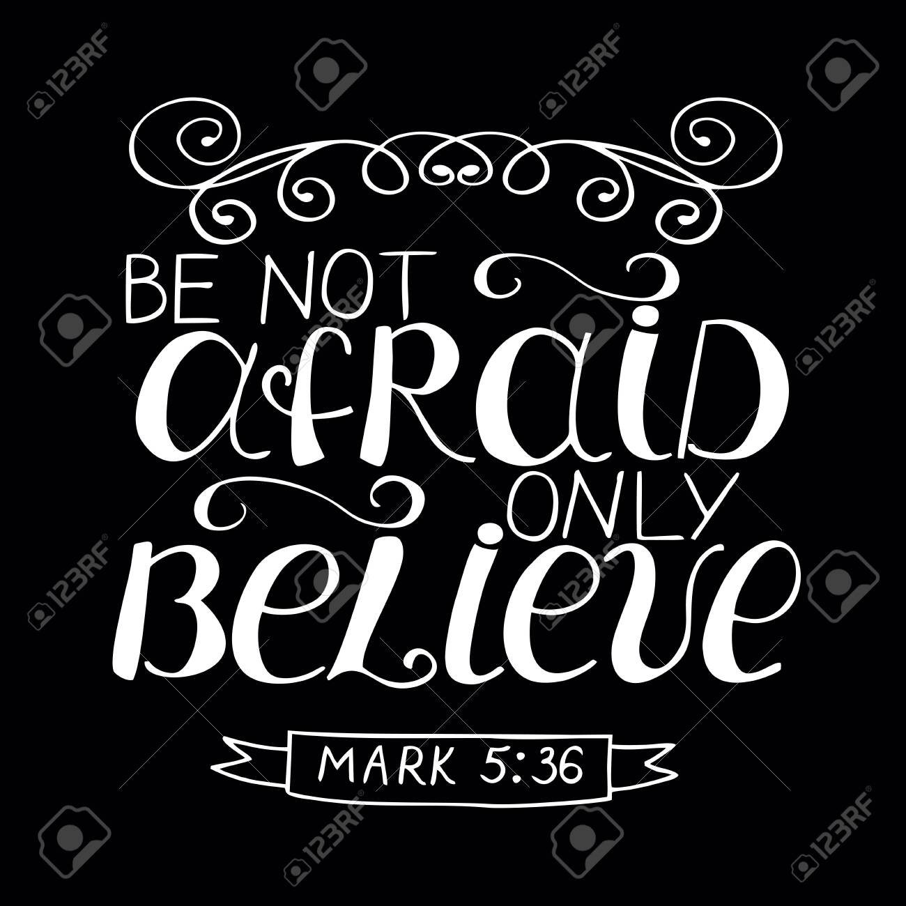 Image result for be not afraid, only believe.""