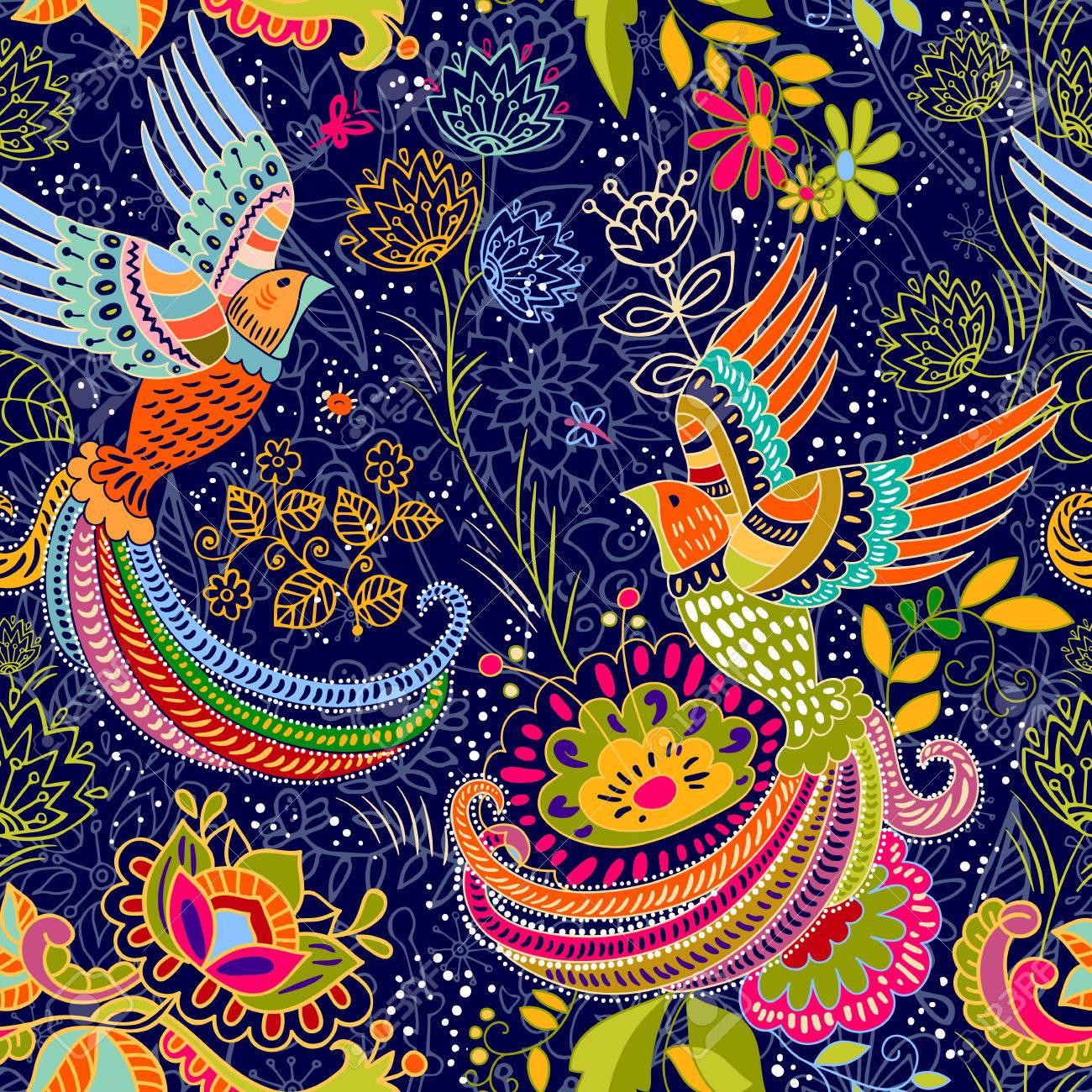 seamless pattern. cartoon style. Colorful backdrop - 60560159