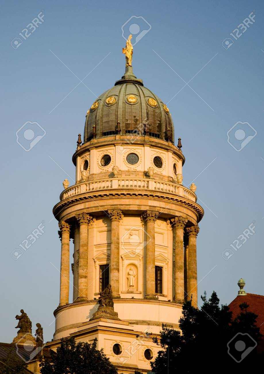 French Dome in Berlin/Germany Stock Photo - 3139173