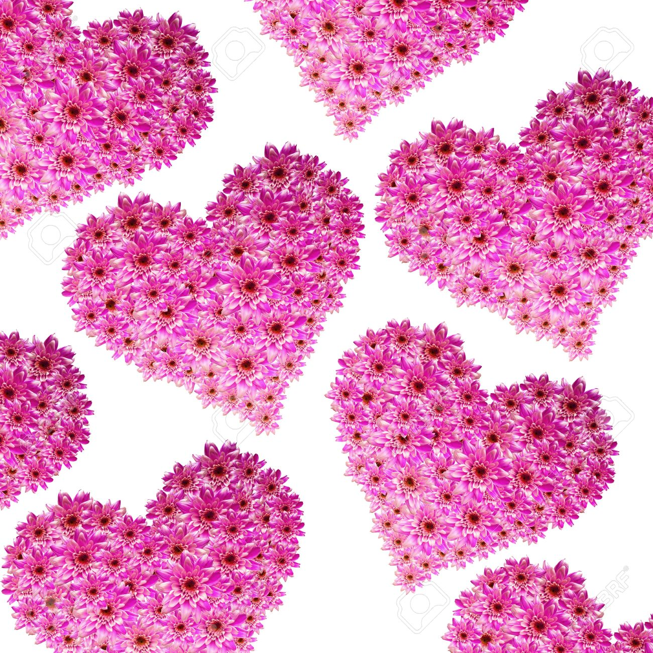Hearts made of pink flowers stock photo picture and royalty free hearts made of pink flowers stock photo 6384342 mightylinksfo