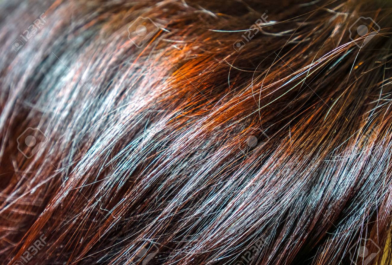Dark Brown Burgundy Red Hair With Long Waves And Gradient Effect
