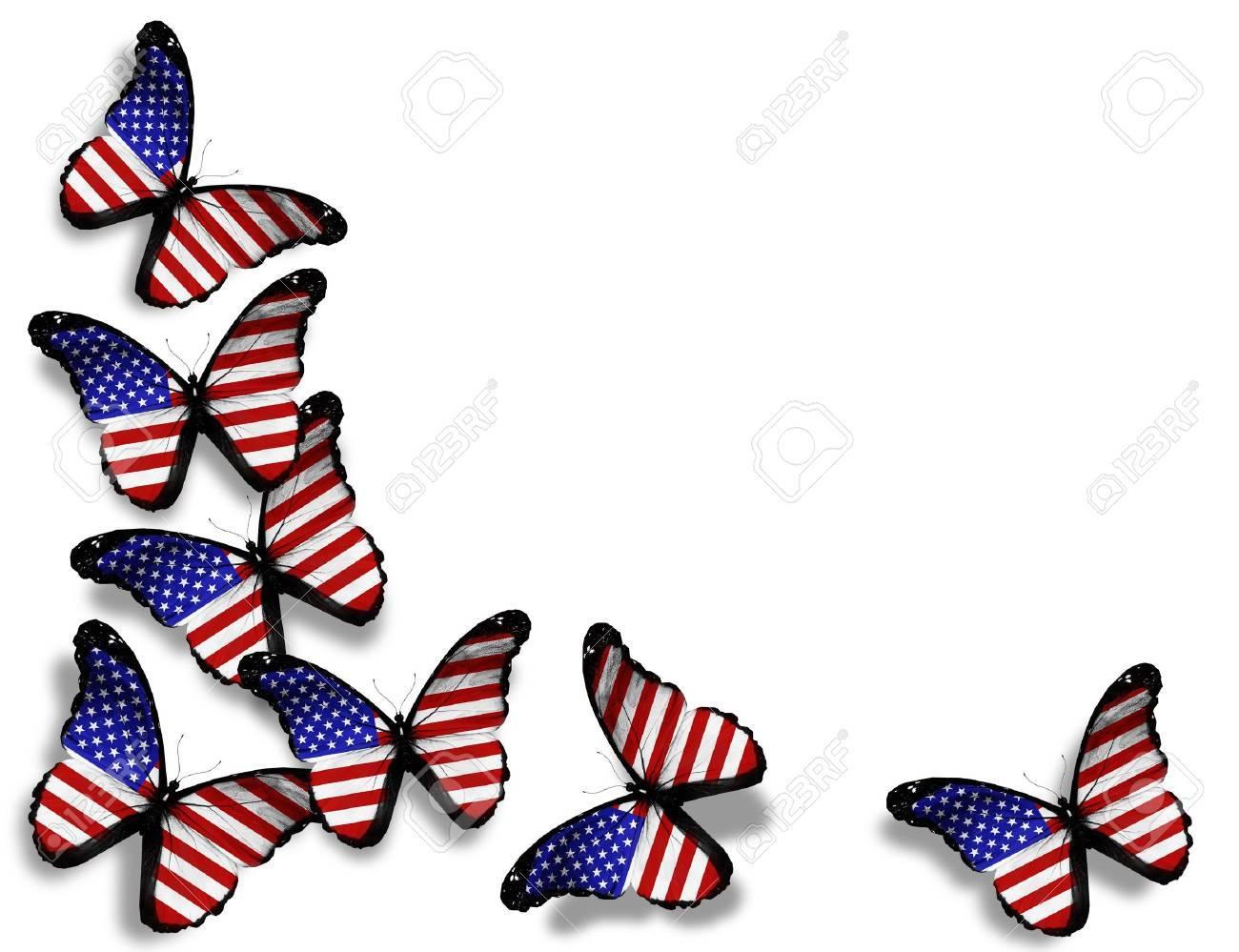 9397245de97 American Flag Butterflies