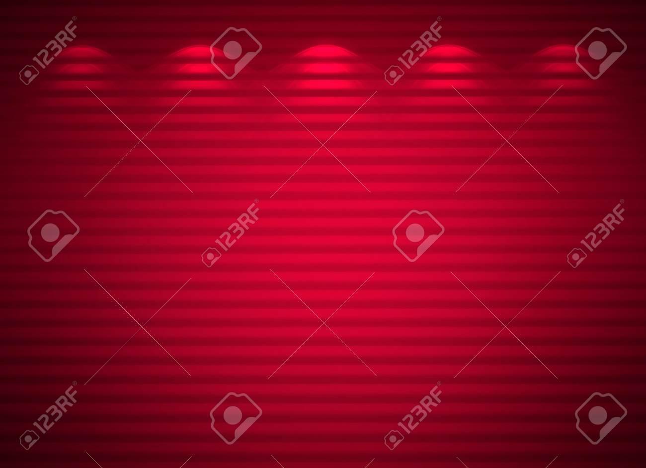 Illuminated pink wall, abstract background Stock Photo - 13159279
