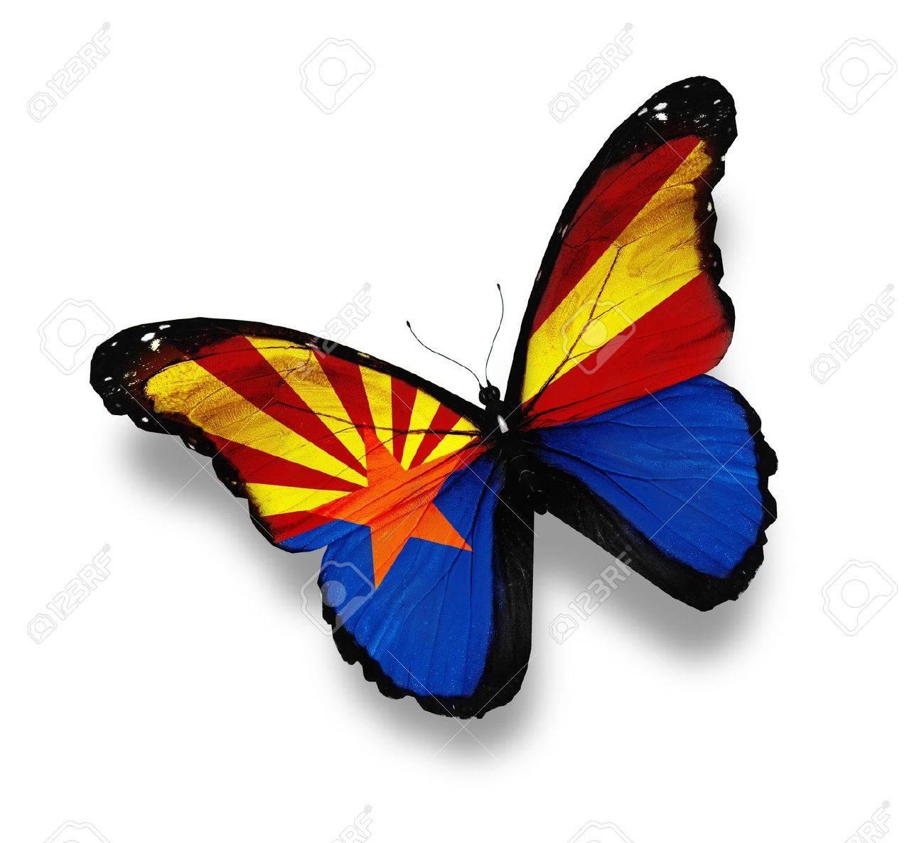 a5dfa9e1d66 Flag Of Arizona Butterfly