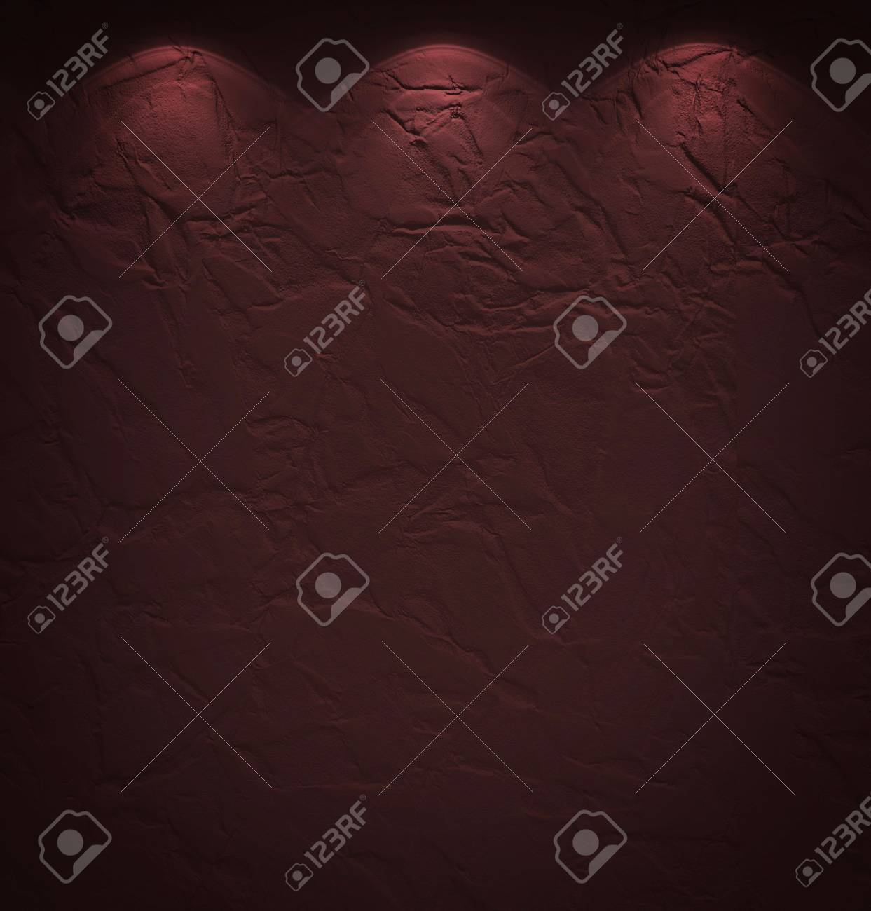 Illuminated texture of the brown wall Stock Photo - 14096492