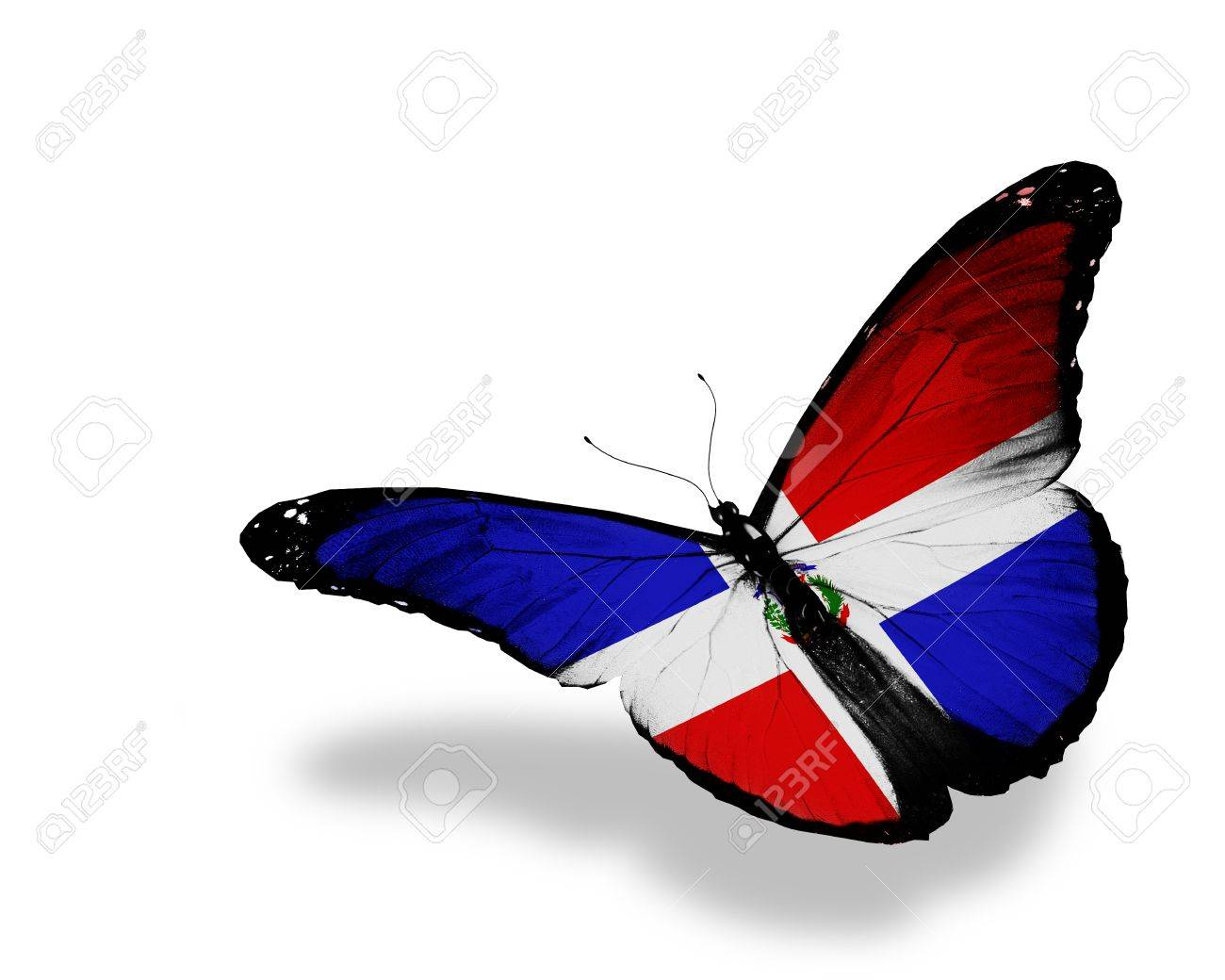 flag dominican republic stock photos royalty free flag dominican