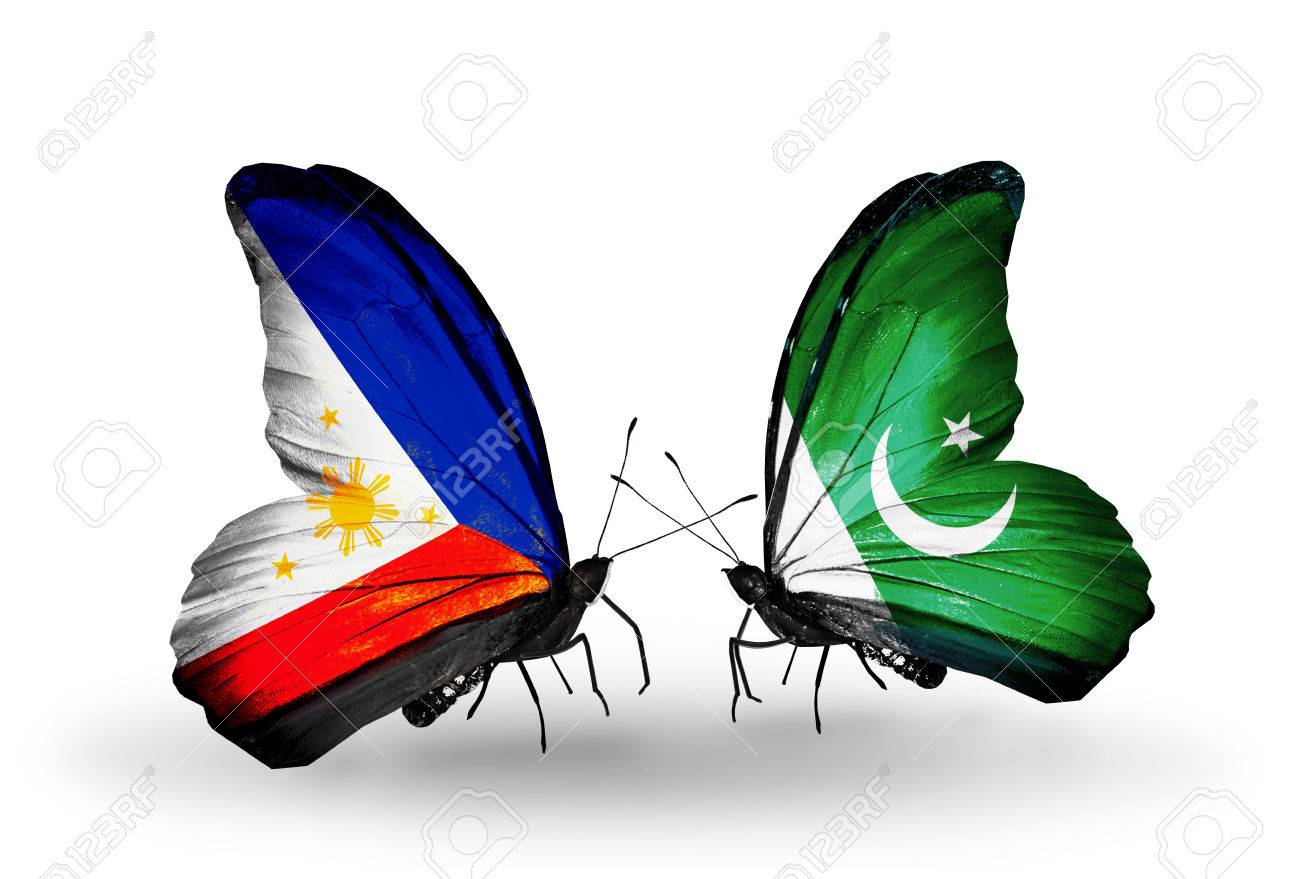 Symbol of philippine flag images symbol and sign ideas two butterflies with flags on wings as symbol of relations two butterflies with flags on wings buycottarizona
