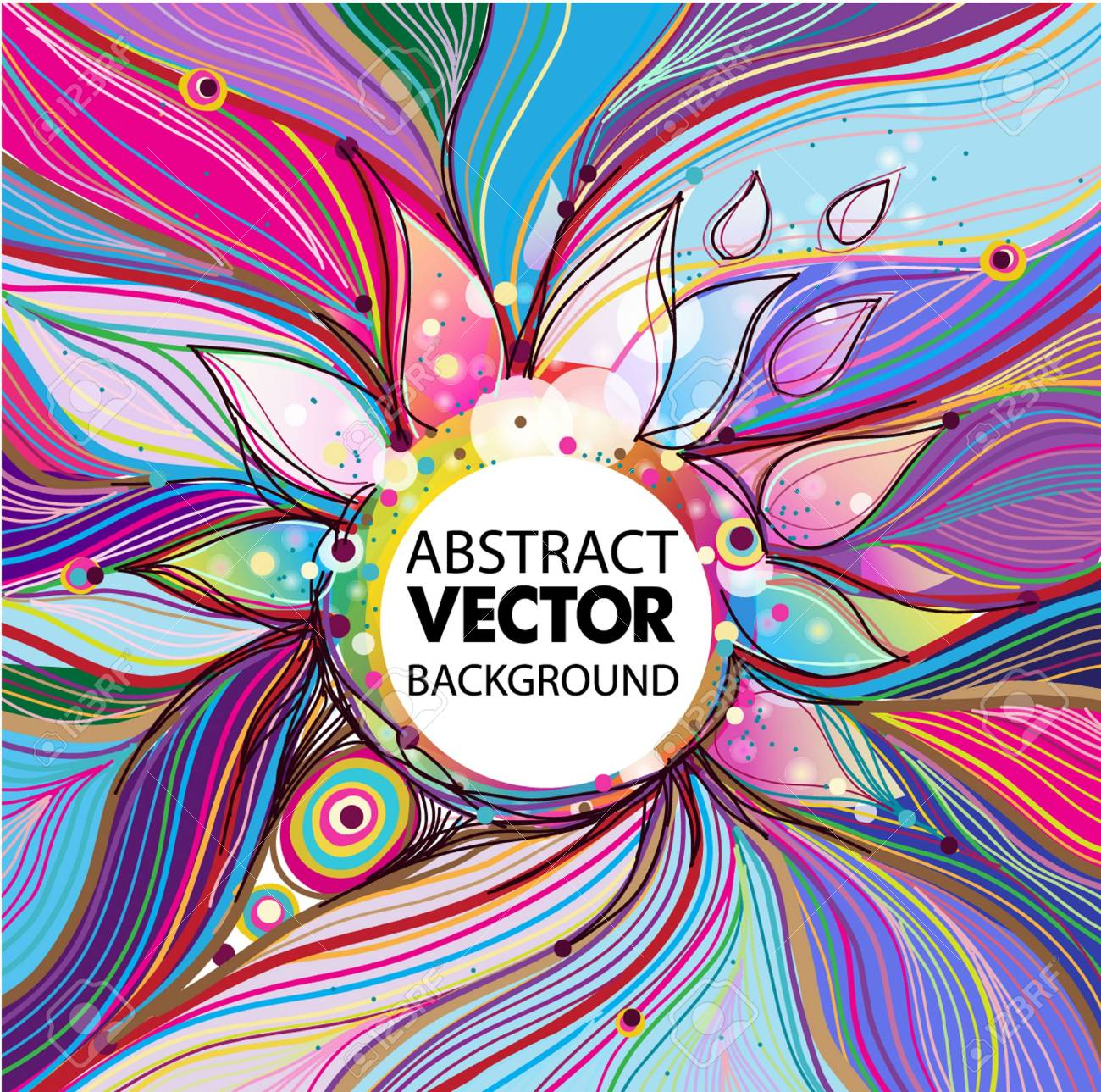 Vector abstract background Stock Vector - 17018185