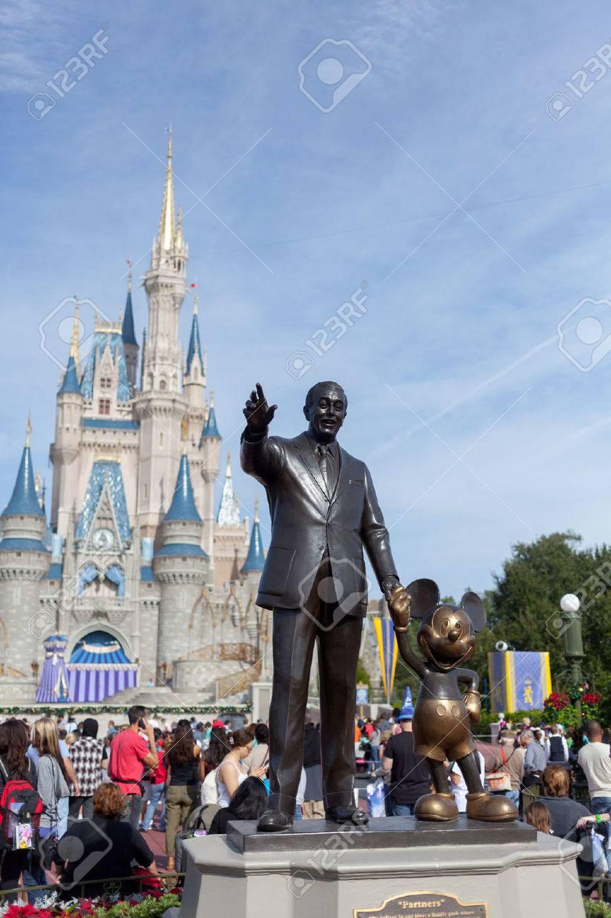 魔法の kindom ディズニーワールド オーランド、フロリダ州