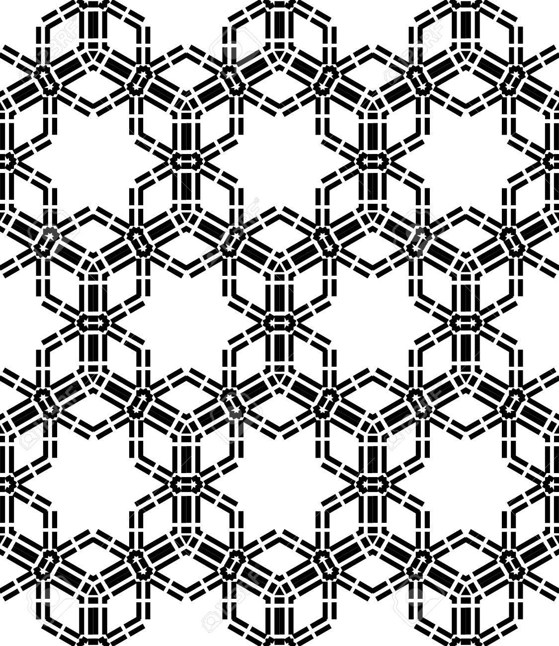 Black bed sheets pattern -  Seamless Pattern Christmas Black And White Textile Print Stylish Background Abstract Texture Monochrome Fashion Design Bed Sheets Or Pillow Pattern