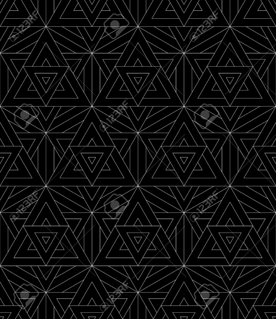 Black bed sheet texture seamless - Vector Vector Modern Seamless Pattern Sacred Geometry Black And White Textile Print Stylish Background Abstract Texture Monochrome Fashion Design Bed