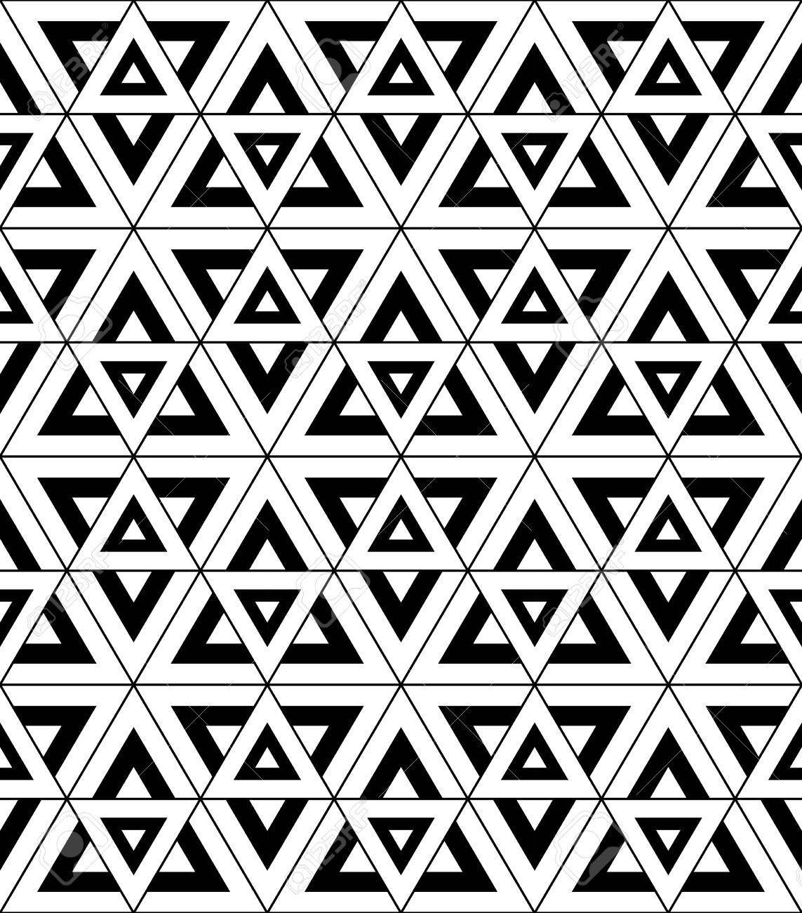 Black bed sheets pattern - Vector Vector Modern Seamless Pattern Sacred Geometry Black And White Textile Print Stylish Background Abstract Texture Monochrome Fashion Design Bed