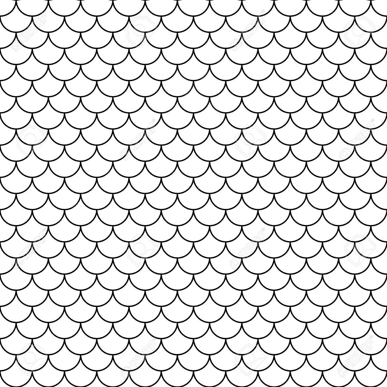 Vector Echelles Modernes Sans Soudure Motif Geometrique Noir Et