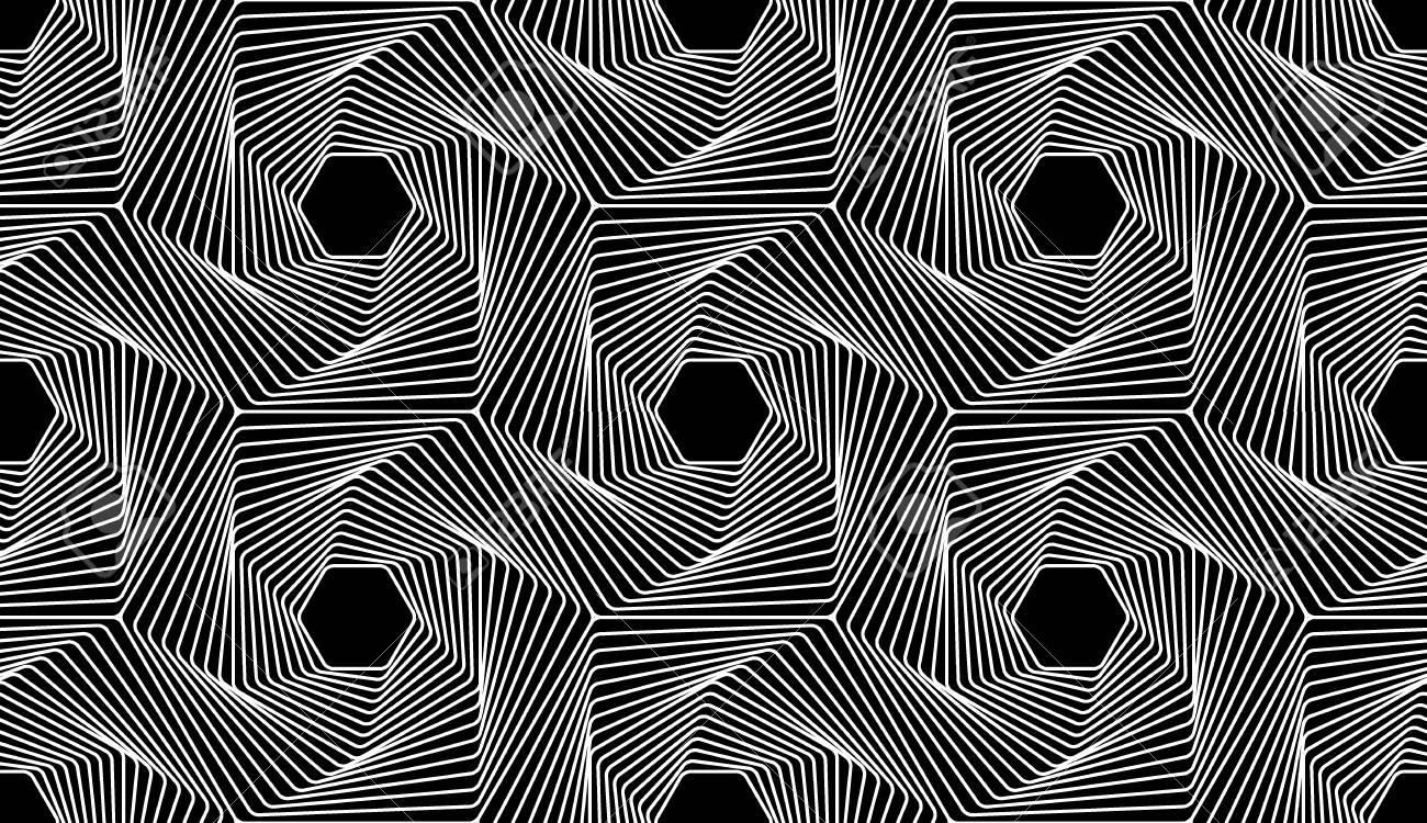 Vector Moderna Linea Di Modello Geometria Senza Soluzione Di