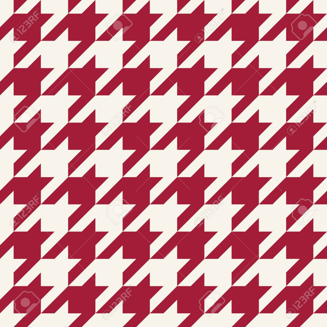 houndstooth checkered fashion trendy textile geometric pattern - 74826705