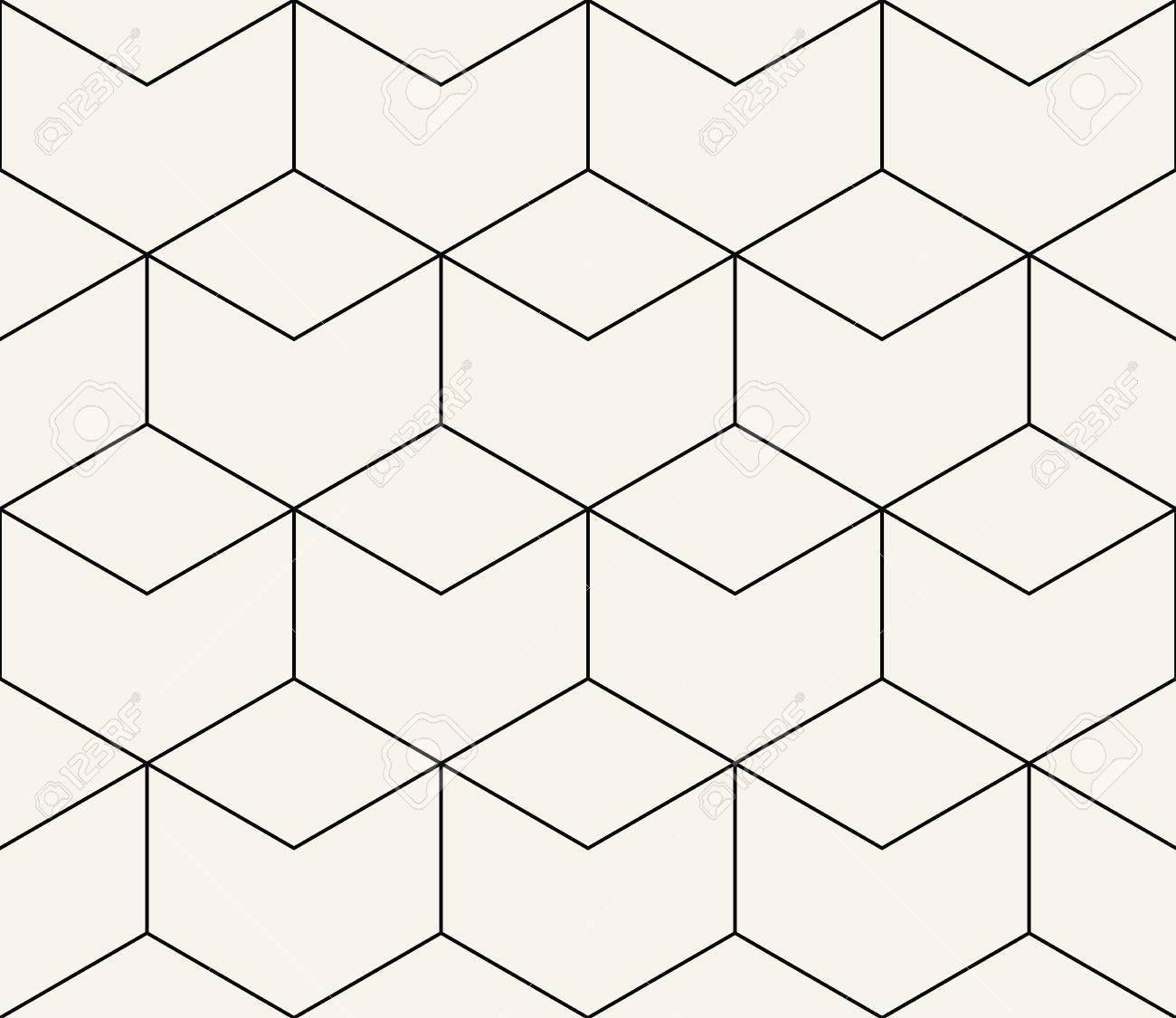 Hexagon Pattern Vector New Design Inspiration