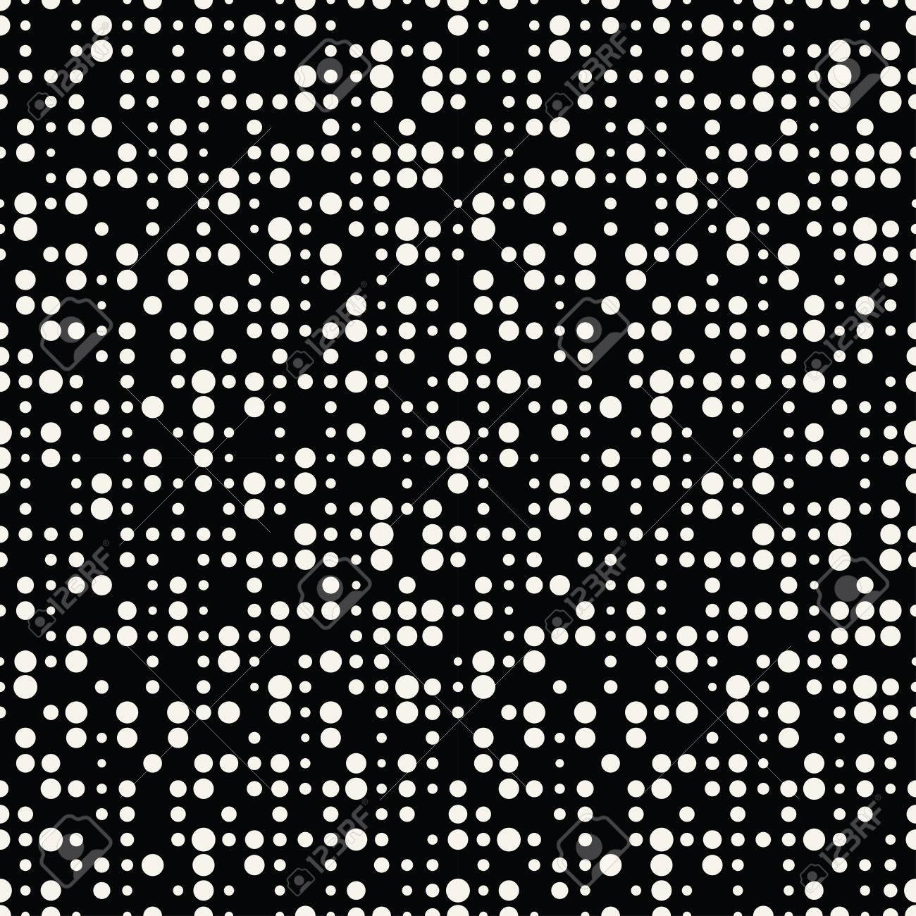 Geometric dots deco art seamless pattern design. - 83947046