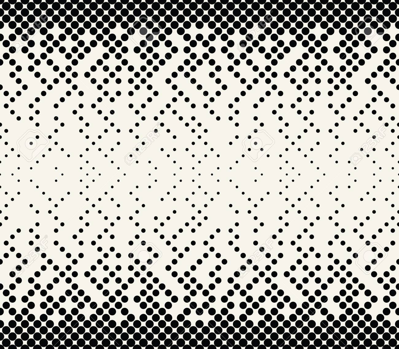 abstract halftone geometric vector patter - 97575771