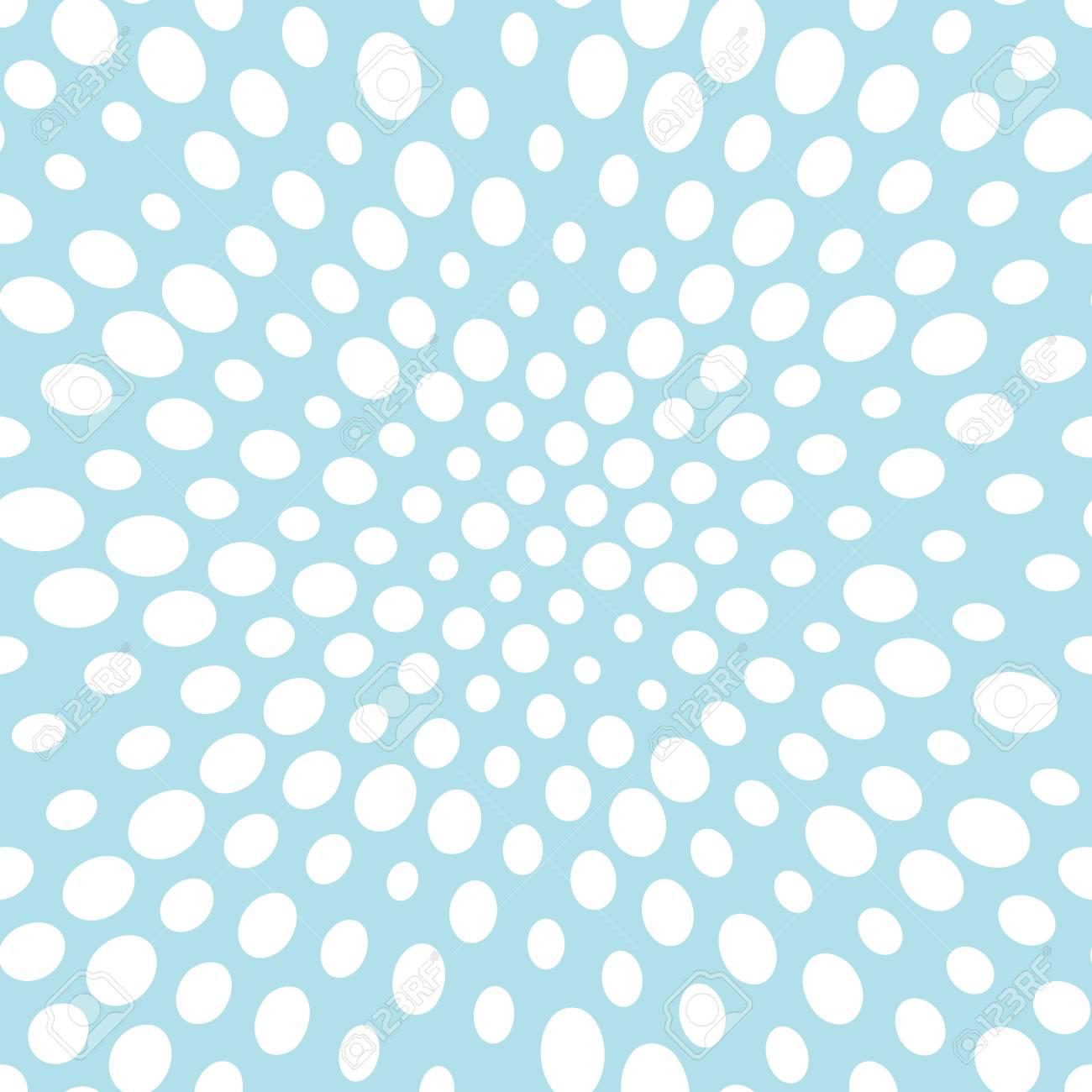 abstract seamless geometric halftone pattern - 124753557