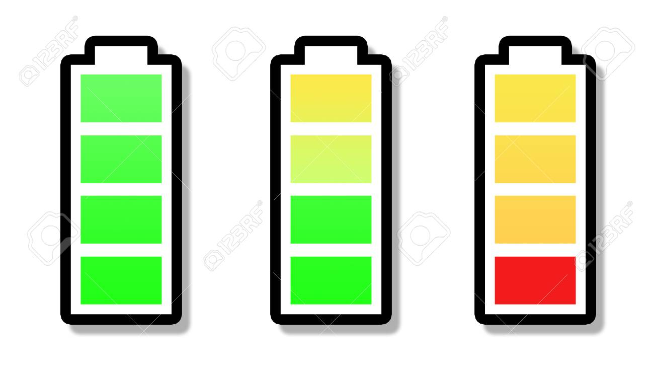 Symbol Battery Full Symbol Half Battery Symbol Battery 25 Percent Symbol Stock Photo Picture And Royalty Free Image Image 112956006